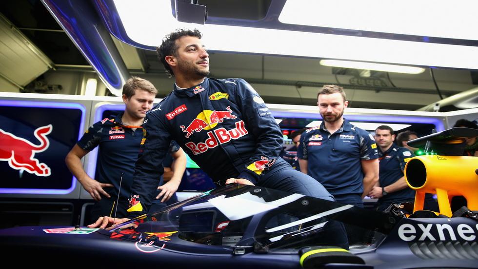 GP de Rusia de F1: Red Bull estrena una visera de protección