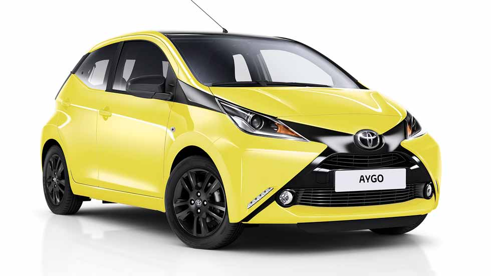 toyota aygo x cite para los conductores m s j venes y desenfadados. Black Bedroom Furniture Sets. Home Design Ideas