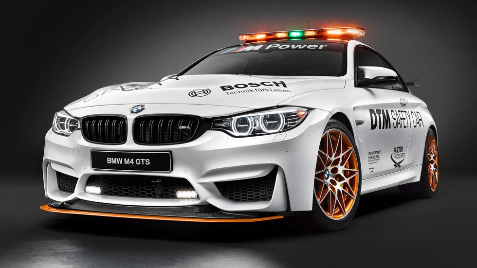 BMW M4 GTS DTM Safety Car, la seguridad hecha espectáculo