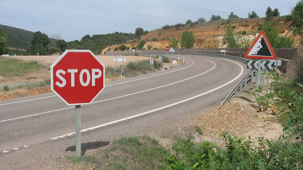 Todos los puntos negros de accidentes de las carreteras convencionales