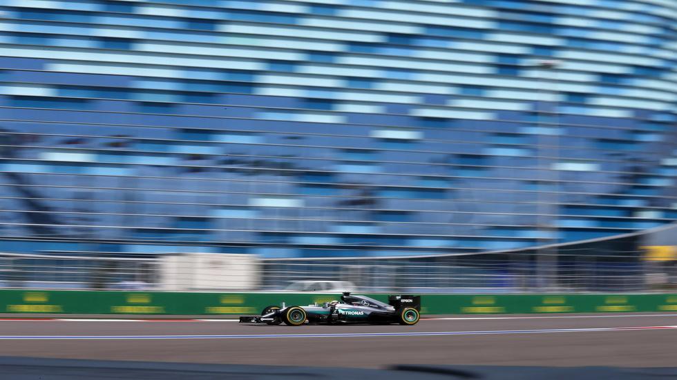 GP de Rusia de F1- Entrenamientos libres del sábado