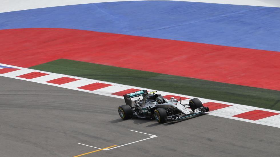GP de Rusia de F1- Calificación
