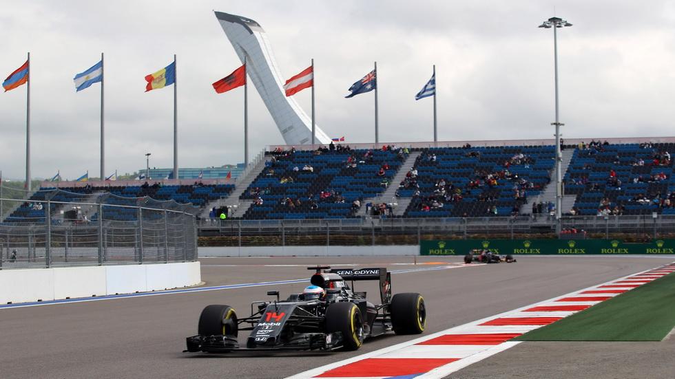 GP de Rusia de F1- Alonso fue decimocuarto en la calificación
