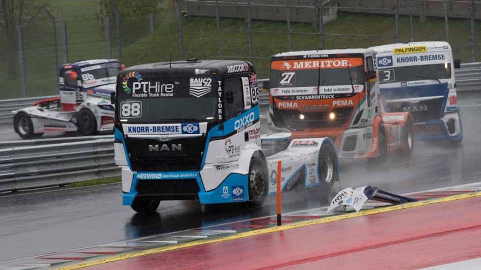 Campeonato de Europa de Camiones 2016: Jochen Hahn, primer líder