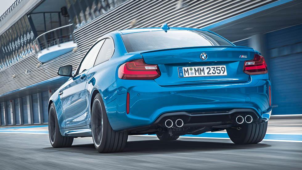 BMW M2 DKG: aceleración y frenada (vídeo)