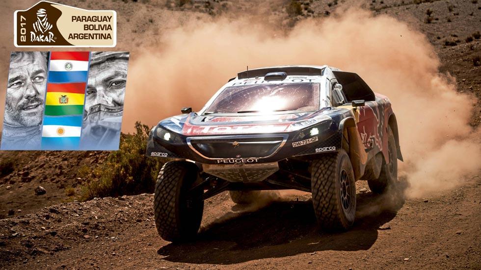 Rally Dakar: Paraguay, Bolivia y Argentina, en el recorrido del 2017
