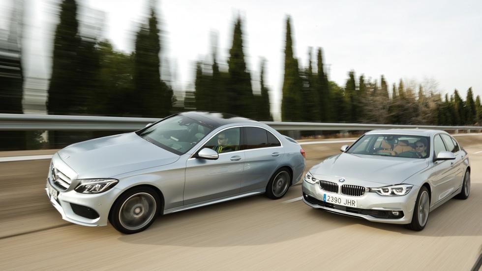 BMW 320d Aut. vs Mercedes C 220 d 7G Tronic: ¡cochazos!