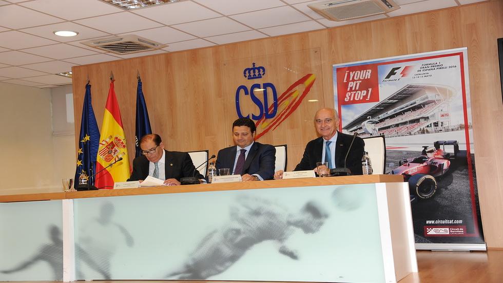 GP de España de F1- Presentación oficial