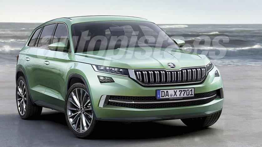 Skoda Kodiaq: así será el nuevo SUV de Skoda