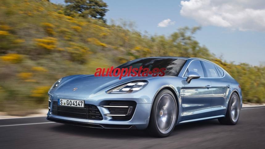 Nuevo motor V8 de Porsche: 550 CV para el Porsche Panamera