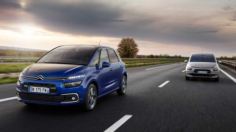 Citroën C4 Picasso y Grand C4 Picasso: completa actualización