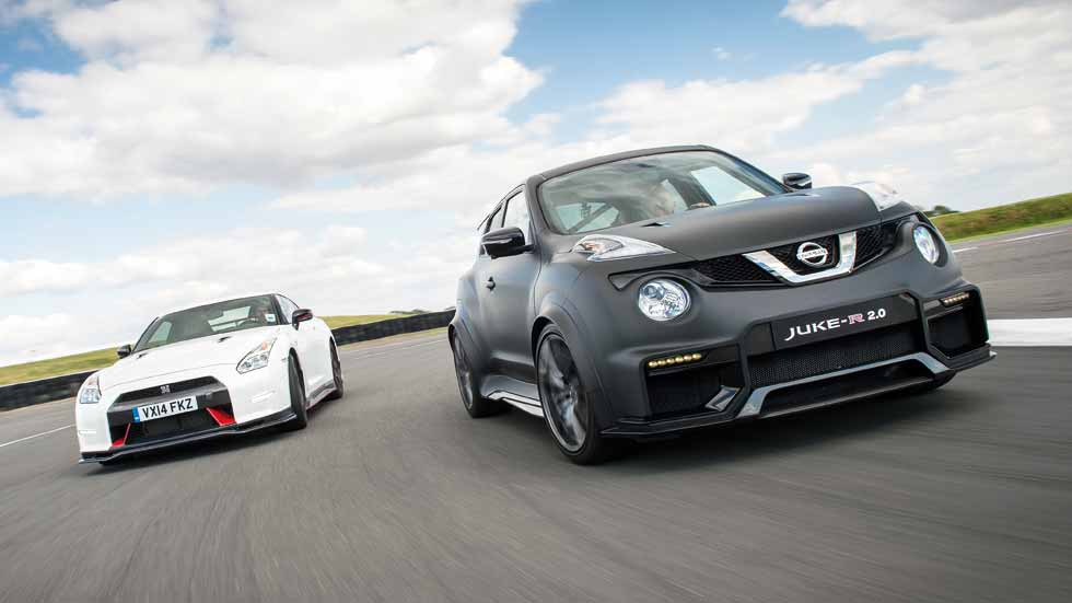 Nissan GT-R Nismo y Nissan Juke R 2.0: ¿deportivos antagónicos?