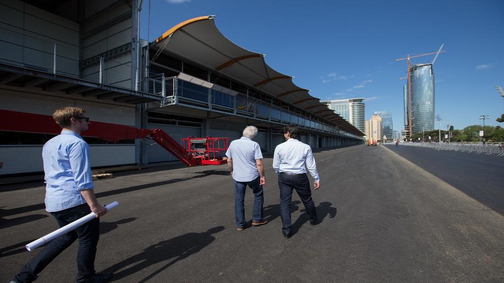 GP de Europa de F1- Visto bueno al circuito de Baku
