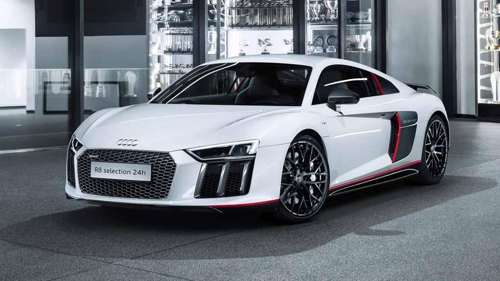 Audi R8 Coupé V10 plus selection 24h, con genes de competición