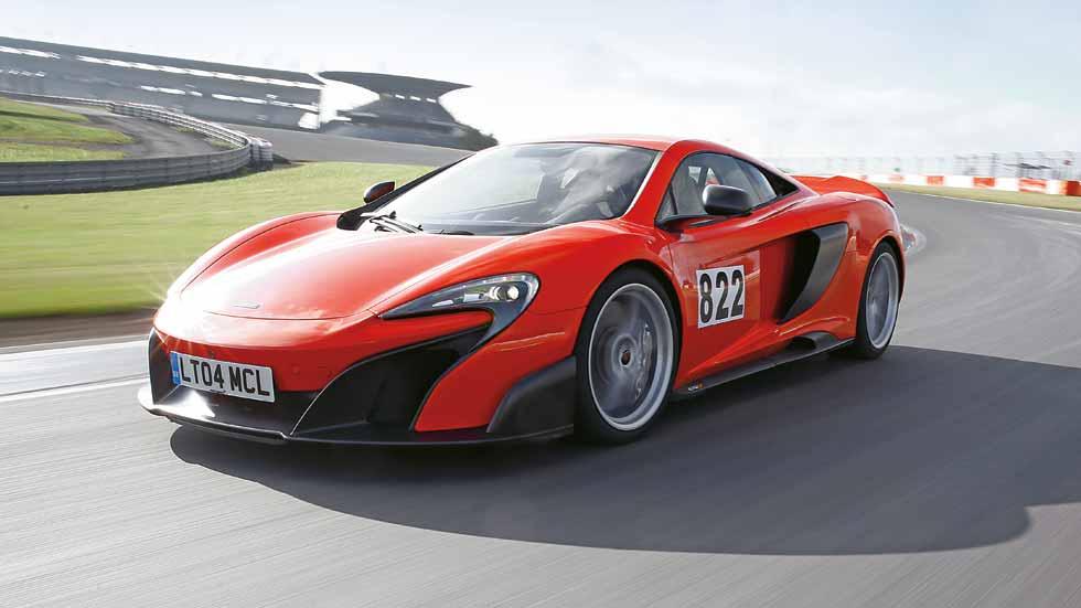McLaren 675 LT: a prueba el deportivo más radical