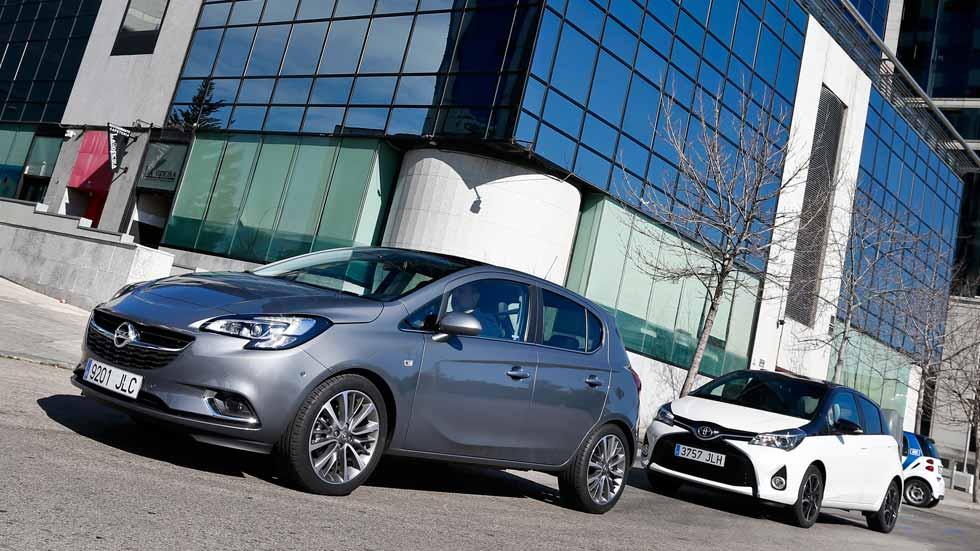 Opel Corsa 1.0 Turbo y Toyota Yaris 100, ¿cuál es mejor?