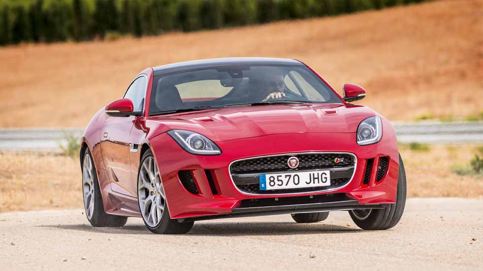 Jaguar F-Type V6 S Coupé AWD: diversión total
