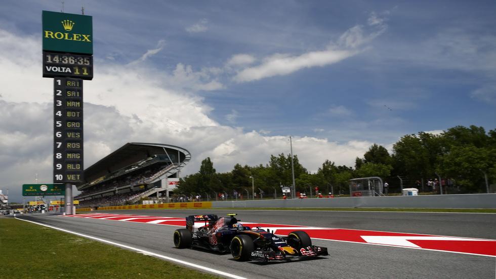 GP de España de F1: La carrera de Carlos Sainz