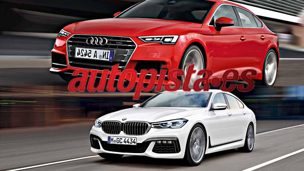 Revista Autopista 2.960: así serán los nuevos BMW Serie 4 y Audi A5