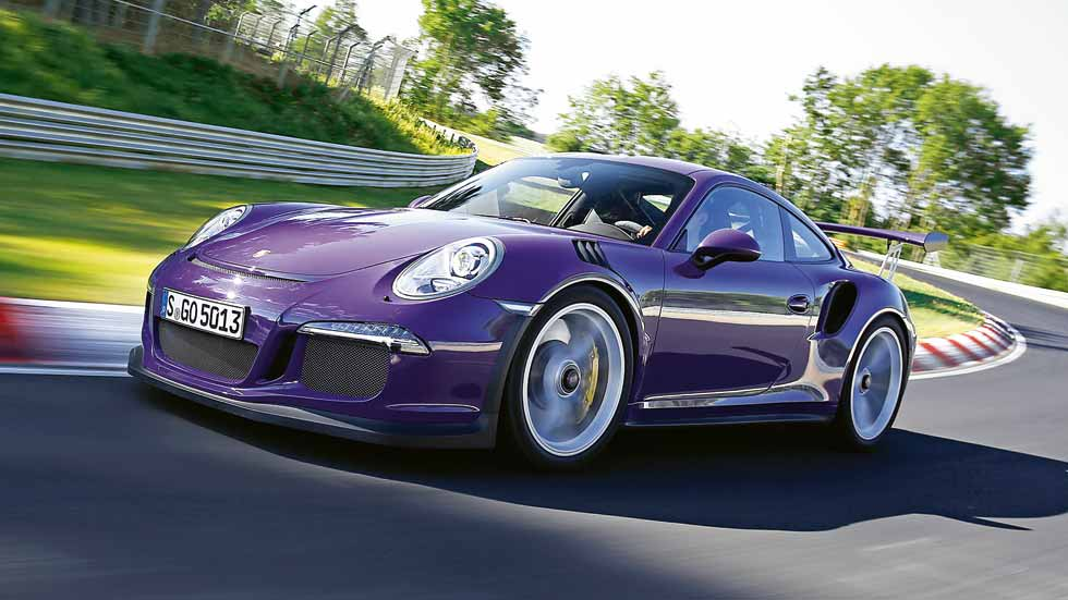 Porsche 911 GT3 RS: ¡la máquina deportiva total!
