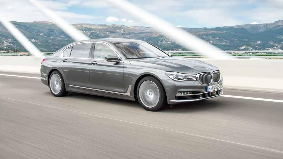 BMW 750d, el Diesel más potente de BMW: 4 turbos y 400 CV