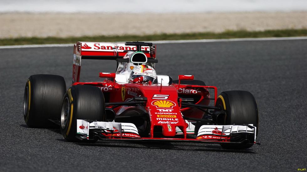 Primera jornada de test de F1 en Barcelona: Vettel, el más rápido