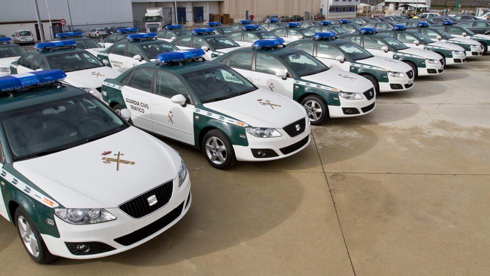 Detenidos por clonar un coche de la Guardia Civil para robar droga