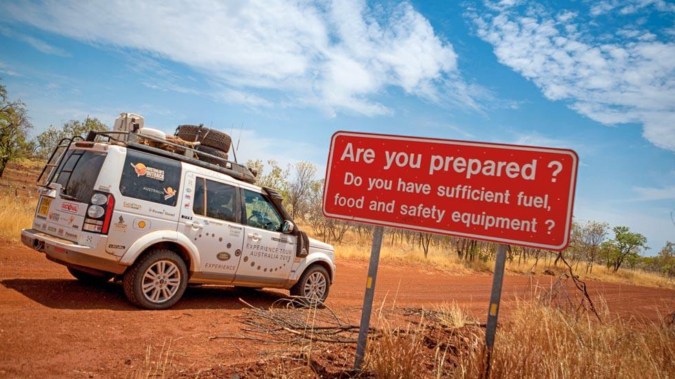 Prueba extrema por Australia: viajamos con un Land Rover