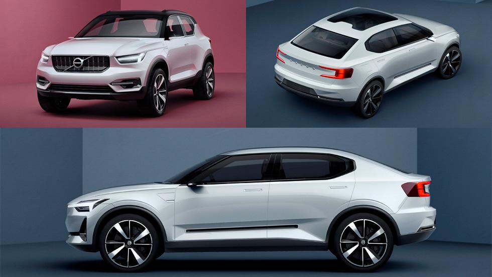Nuevos Volvo S40 y XC40: así serán en 2017