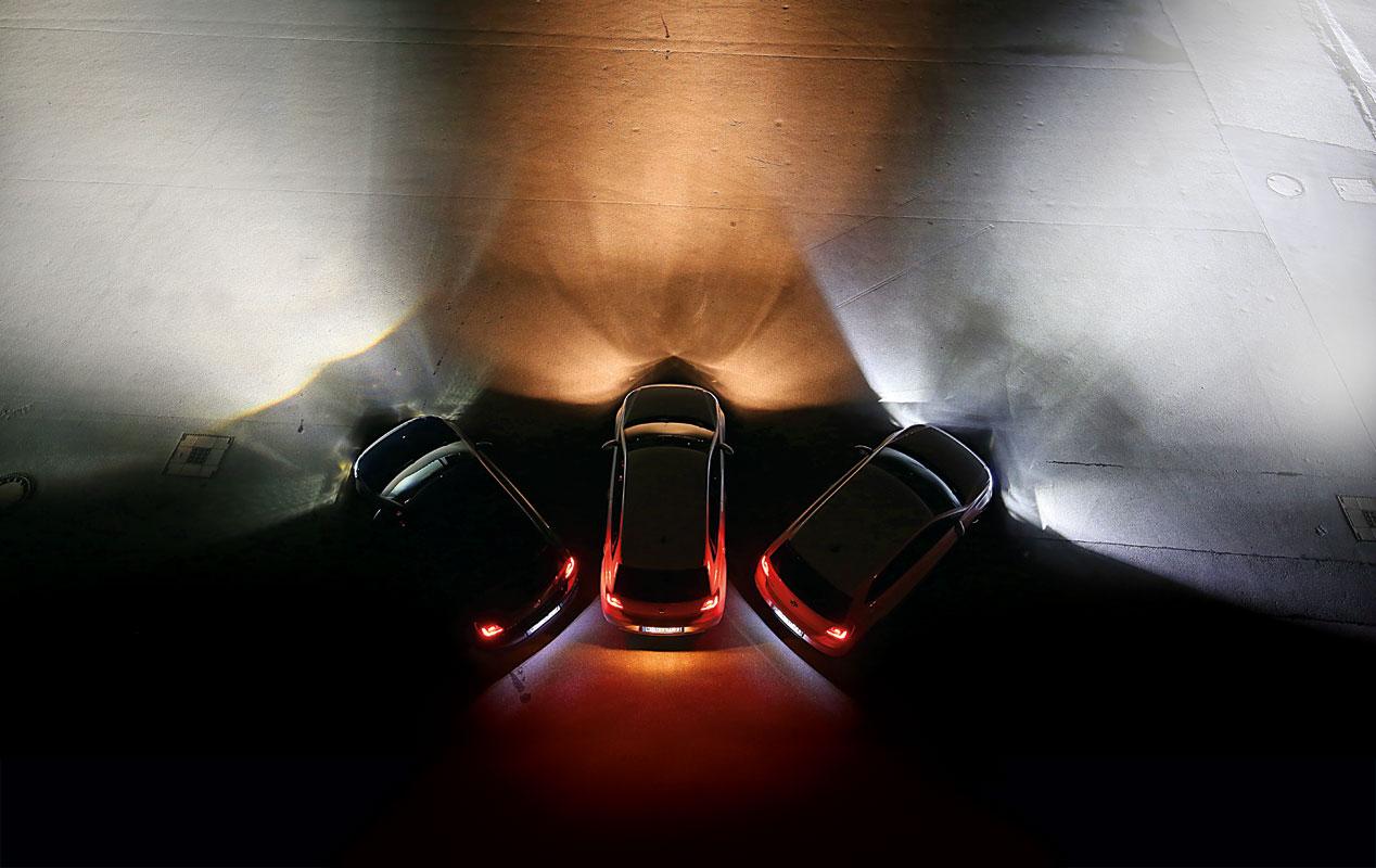 Sistemas de iluminaci n en el coche hal genos led o for Lamparas halogenas led