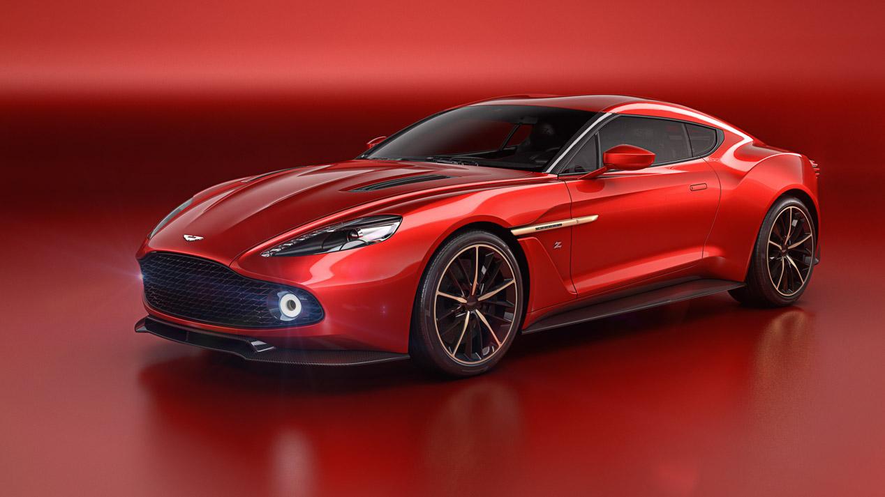 Aston Martin Vanquish Zagato Concept, un coche para soñar