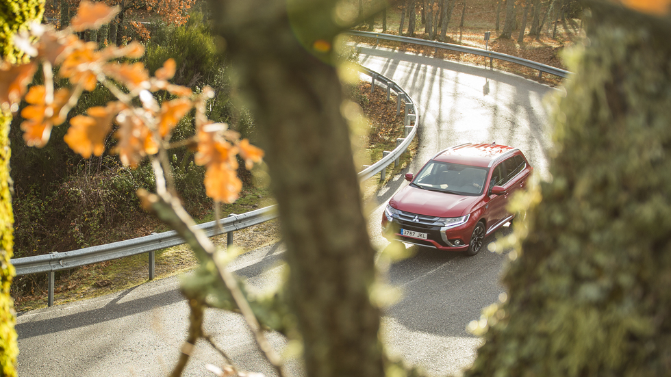 Mitsubishi Outlander PHEV: un mes con un SUV híbrido plug-in