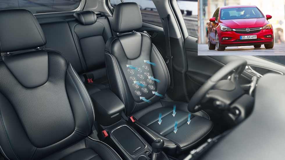 ¿Por qué los médicos recomiendan los asientos del Opel Astra?
