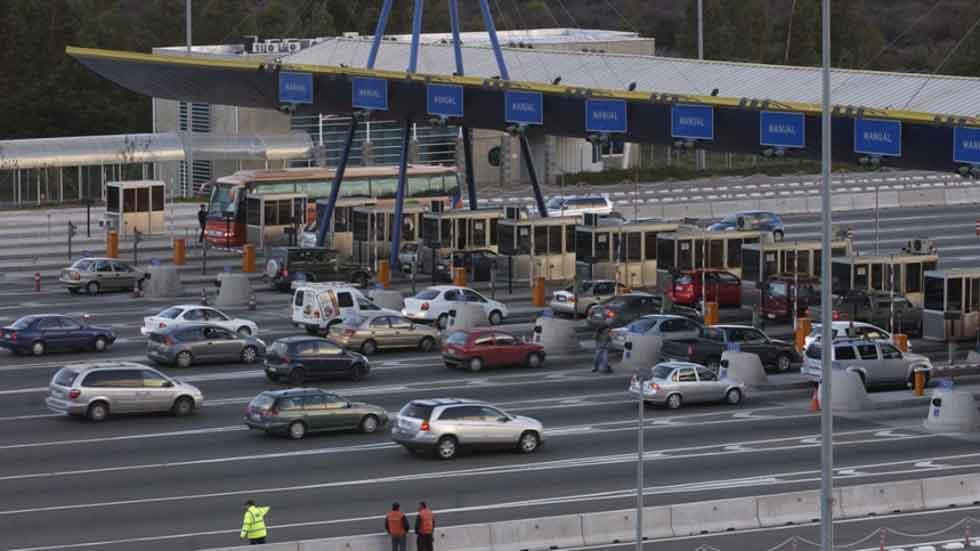 Aumenta el tráfico de coches en las autopistas de peaje