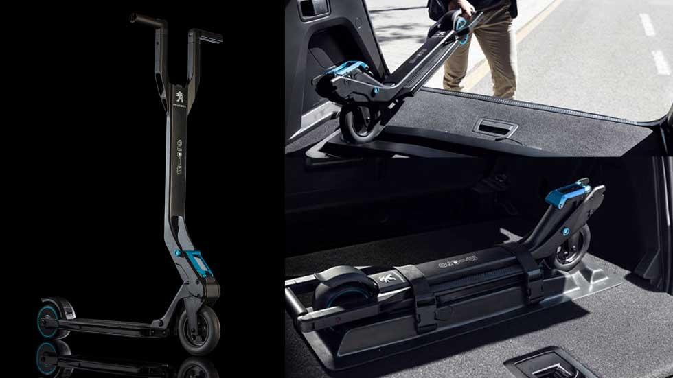 El Peugeot 3008 2016 incorporará un patinete eléctrico