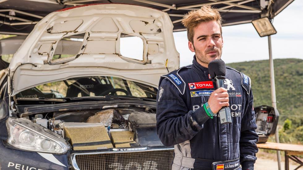 Cohete Suárez nos da las claves de una jornada de test con su Peugeot 208 R5 (vídeo)