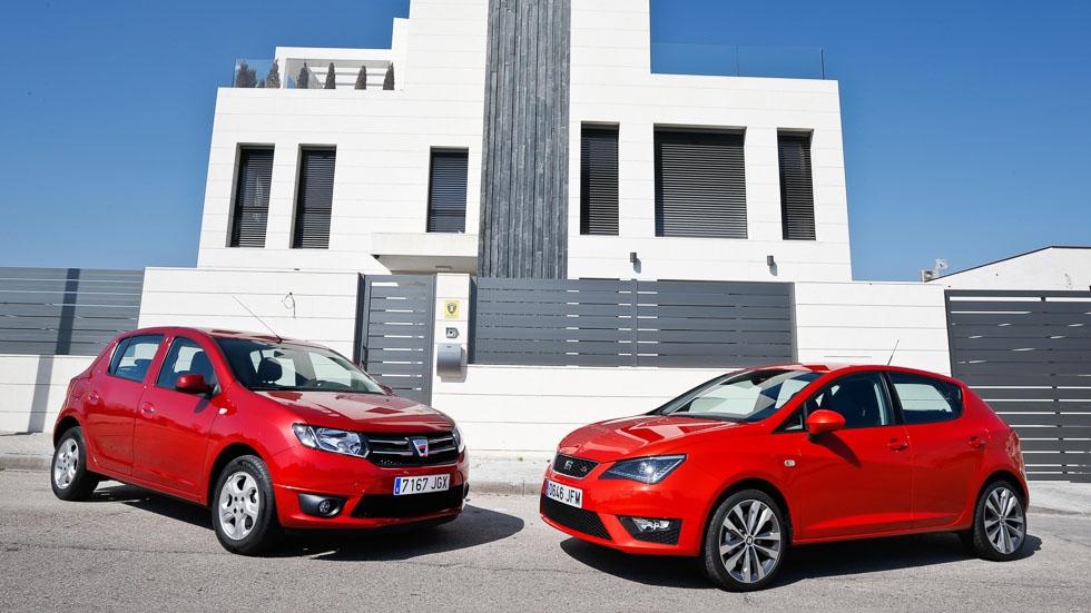 Dacia Sandero vs Seat Ibiza: los utilitarios más vendidos
