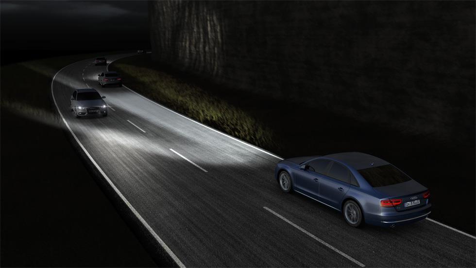 Sistemas de iluminación: ¿qué coches tienen los mejores faros adaptativos?