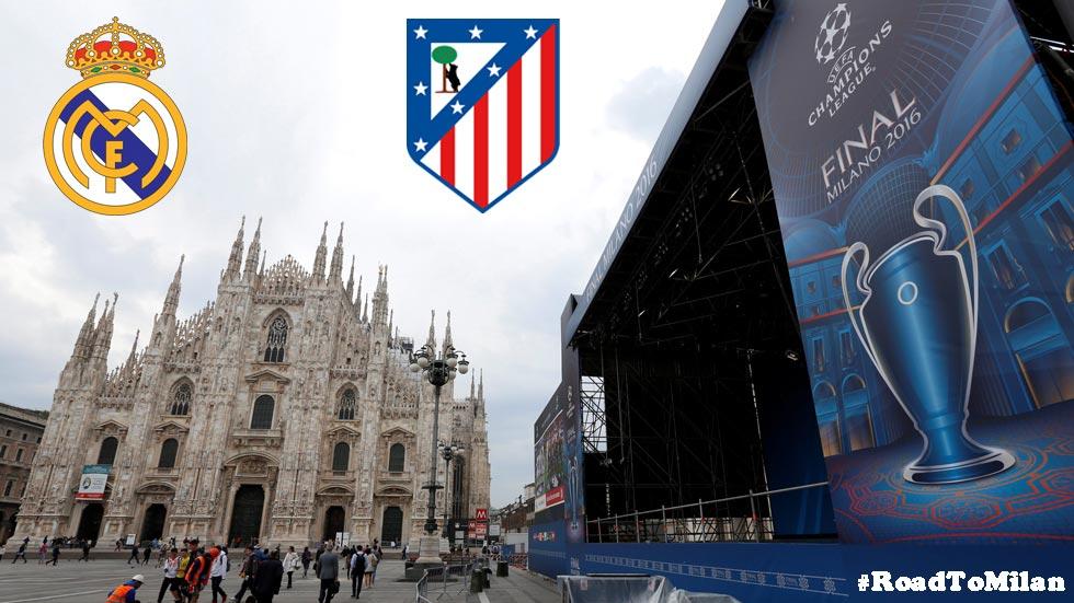 Guía de viaje en coche Madrid-Milán para ver la final de la Champions