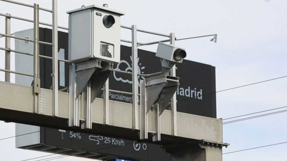 El radar que más multa en Madrid sancionará a 50 km/h