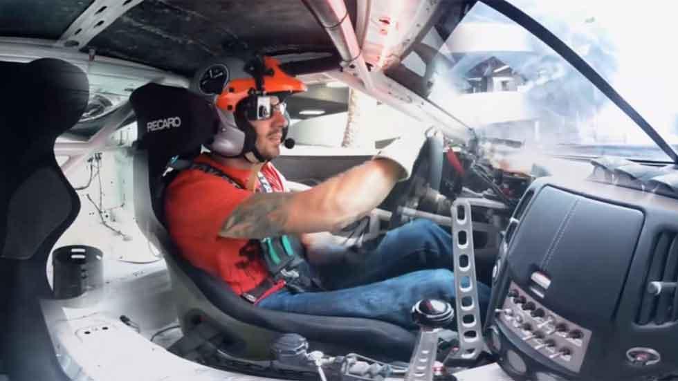 Dos Nissan 370Z: barra libre de 'drifting' (vídeo)