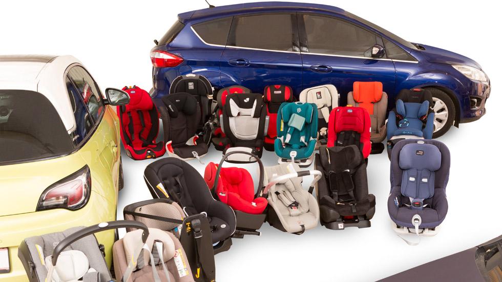 Las sillitas infantiles para coche más seguras del mercado