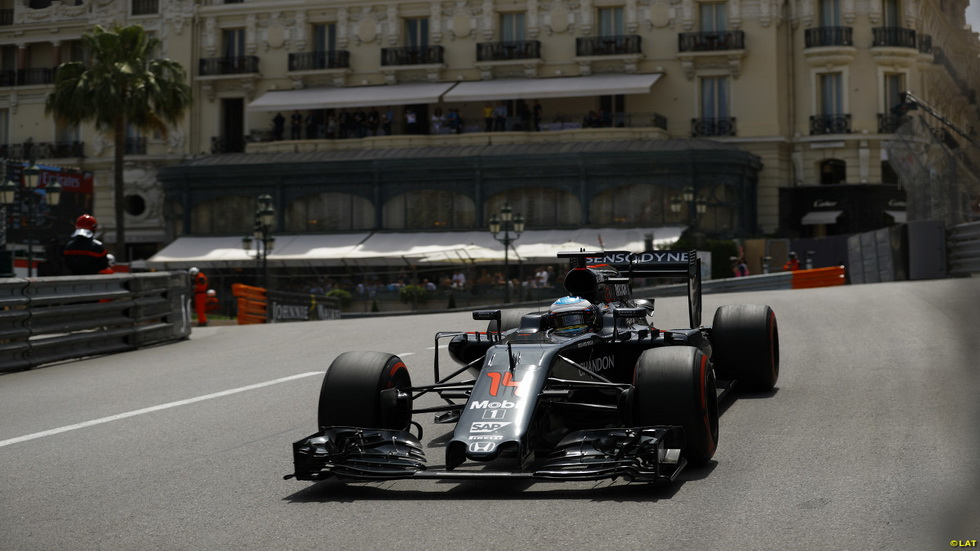 GP de Mónaco de F1: Fernando Alonso tras los libres del jueves
