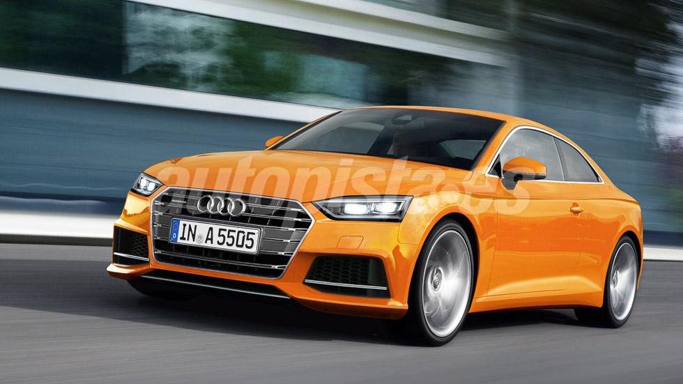 Así será el nuevo Audi A5 2016: el coupé del año