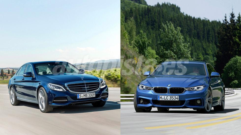 BMW Serie 3 y Mercedes Clase C: las súper berlinas que vienen