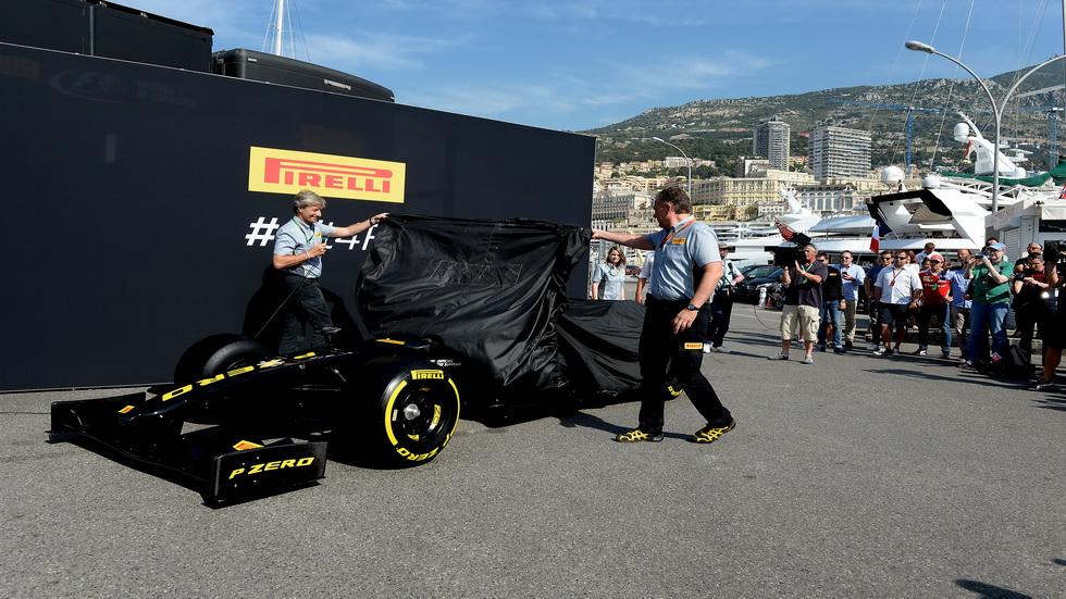 GP de Mónaco de F1- Pirelli presenta los neumáticos 2017