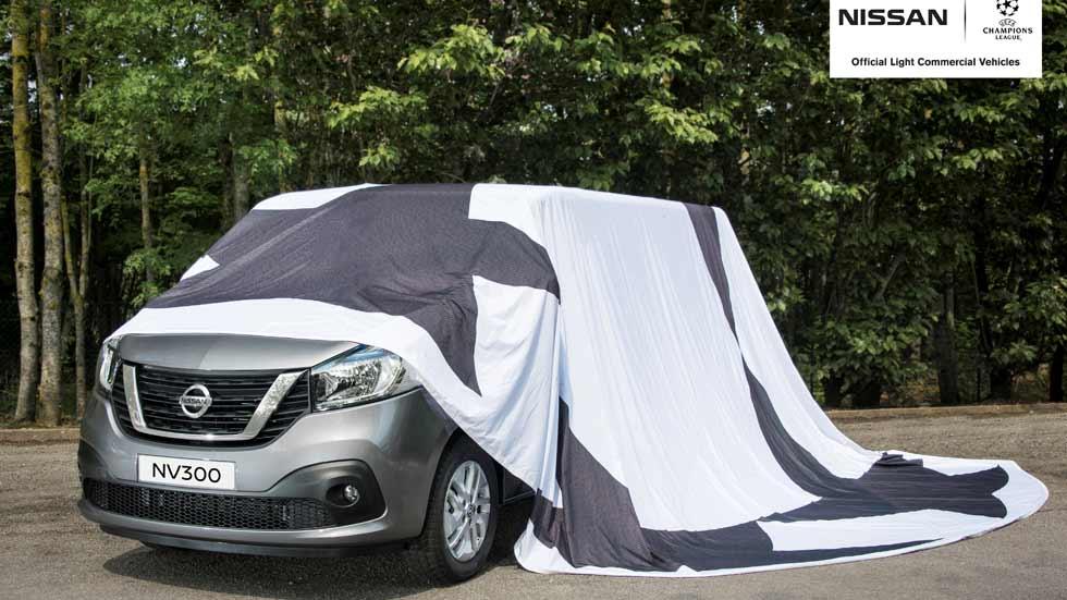 Nissan NV300: estreno mundial en el Salón de Hanover 2016