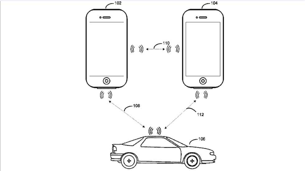 Apple patenta una llave inteligente para controlar el coche