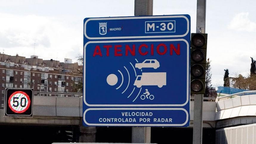 Los radares de Madrid recaudan 5.115 euros cada hora