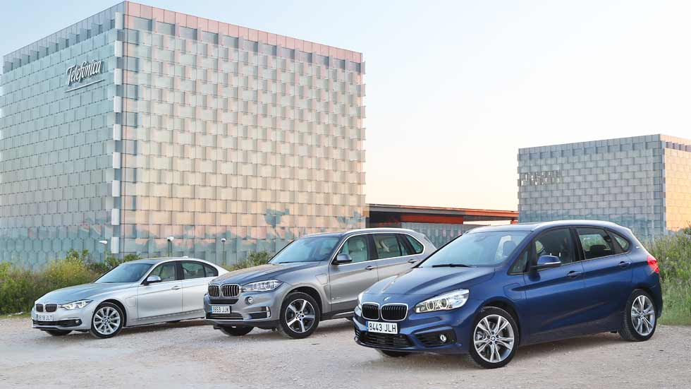 BMW iPerformance: probamos los híbridos enchufables de BMW